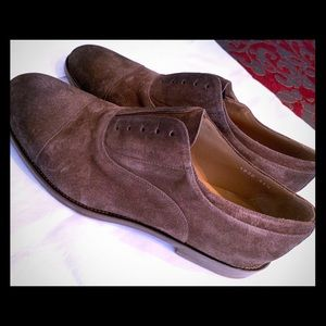 Doucal's light point brown oxfords